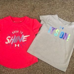 Girls under armour shirts